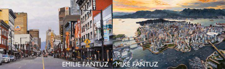UPCOMING OCTOBER EXHIBITION: EMILIE FANTUZ & MIKE FANTUZ